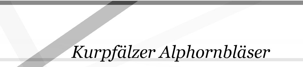Kurpfaelzer Alphornblaeser
